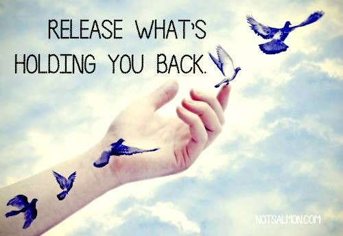 release what's holding you back